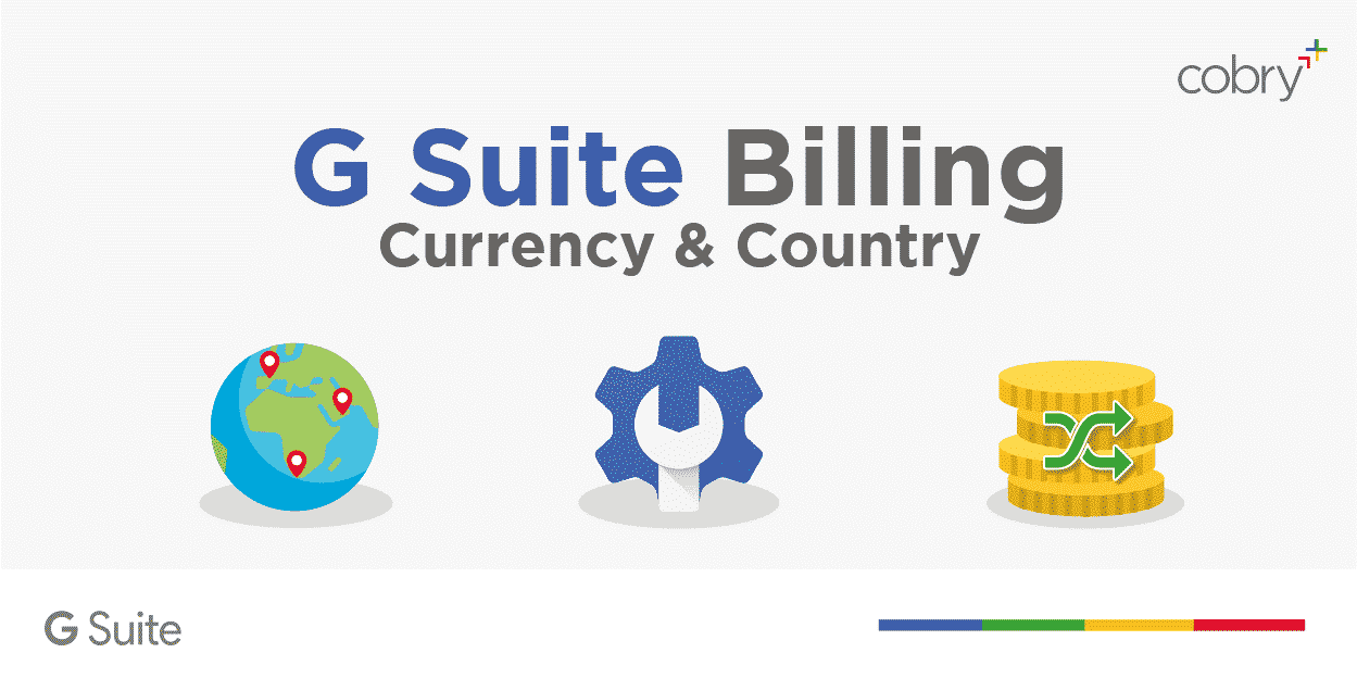 G Suite Billing currency and country