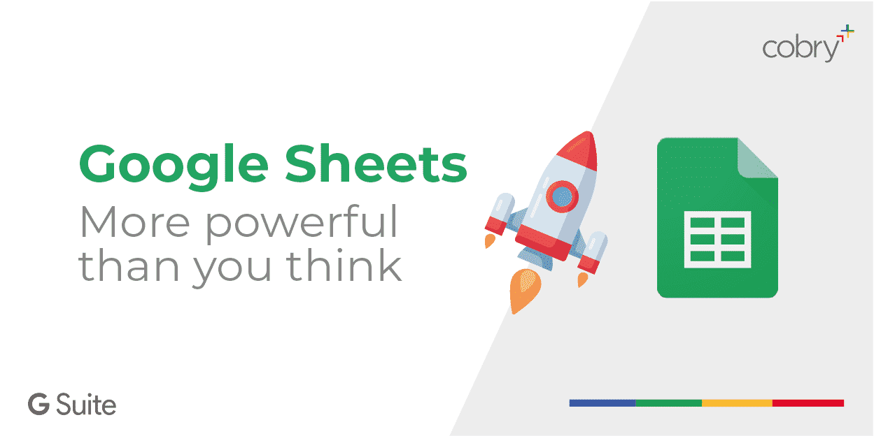 Google Sheets more powerful than you think