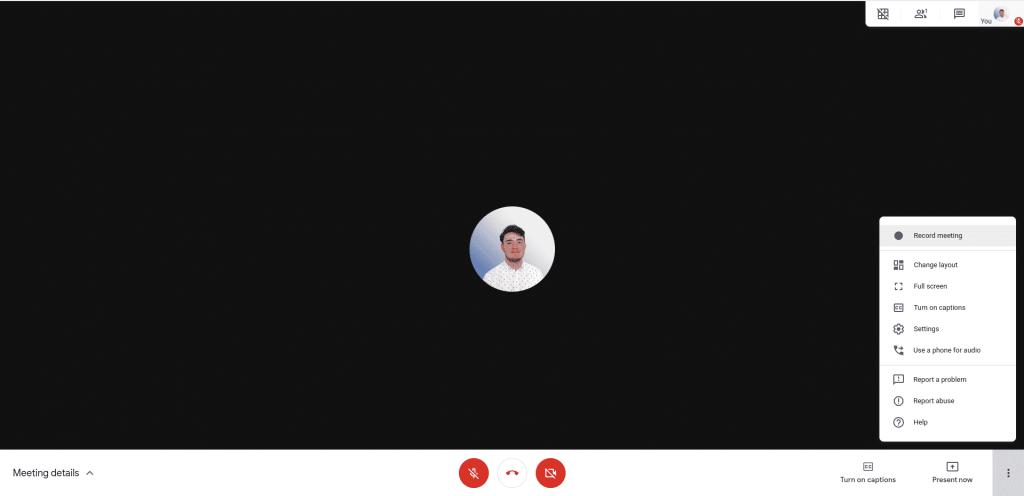 Google Meet Recording