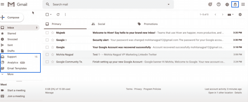 Hiver Shared Mailbox Gmail Add ons
