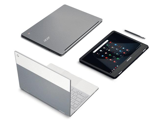 Google Hardware - Chromebooks