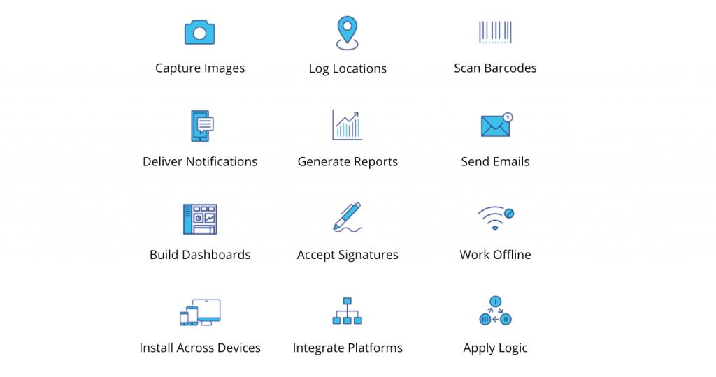 AppSheet features